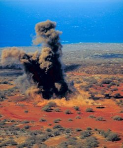 kahoolawe bombing hawaii