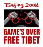 free tibet olympic games bejing