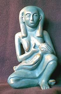 goddess isis nursing horus