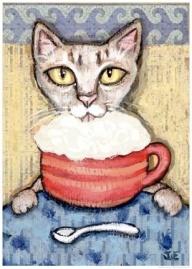 mocha kitty