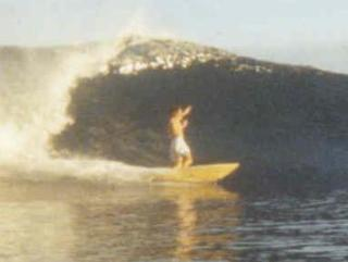 Pat Caldwell Surfing