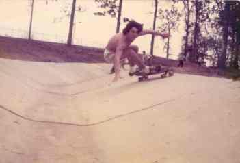 Pat Caldwell skating