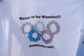 Hobolympics t-shirts
