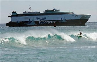 Superferry Hawaii Surfers