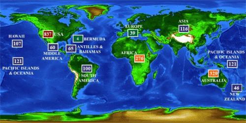 shark attack map