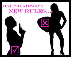 british airways ban surfboards