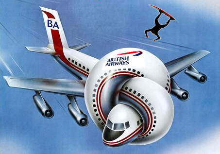 British Airways Surfboards