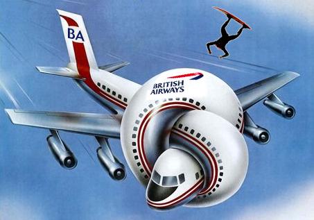 British Airways Surfboards