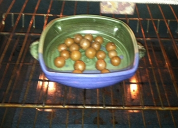 Hawaii Mac Nuts MK Wares Pottery