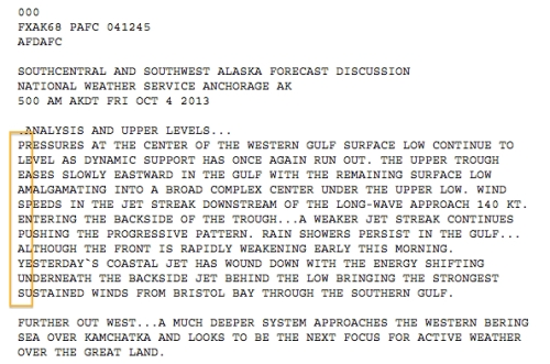 Alaska National Weather Service Government Shutdown