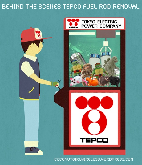 TEPCO Fuel Removal Arcade Game