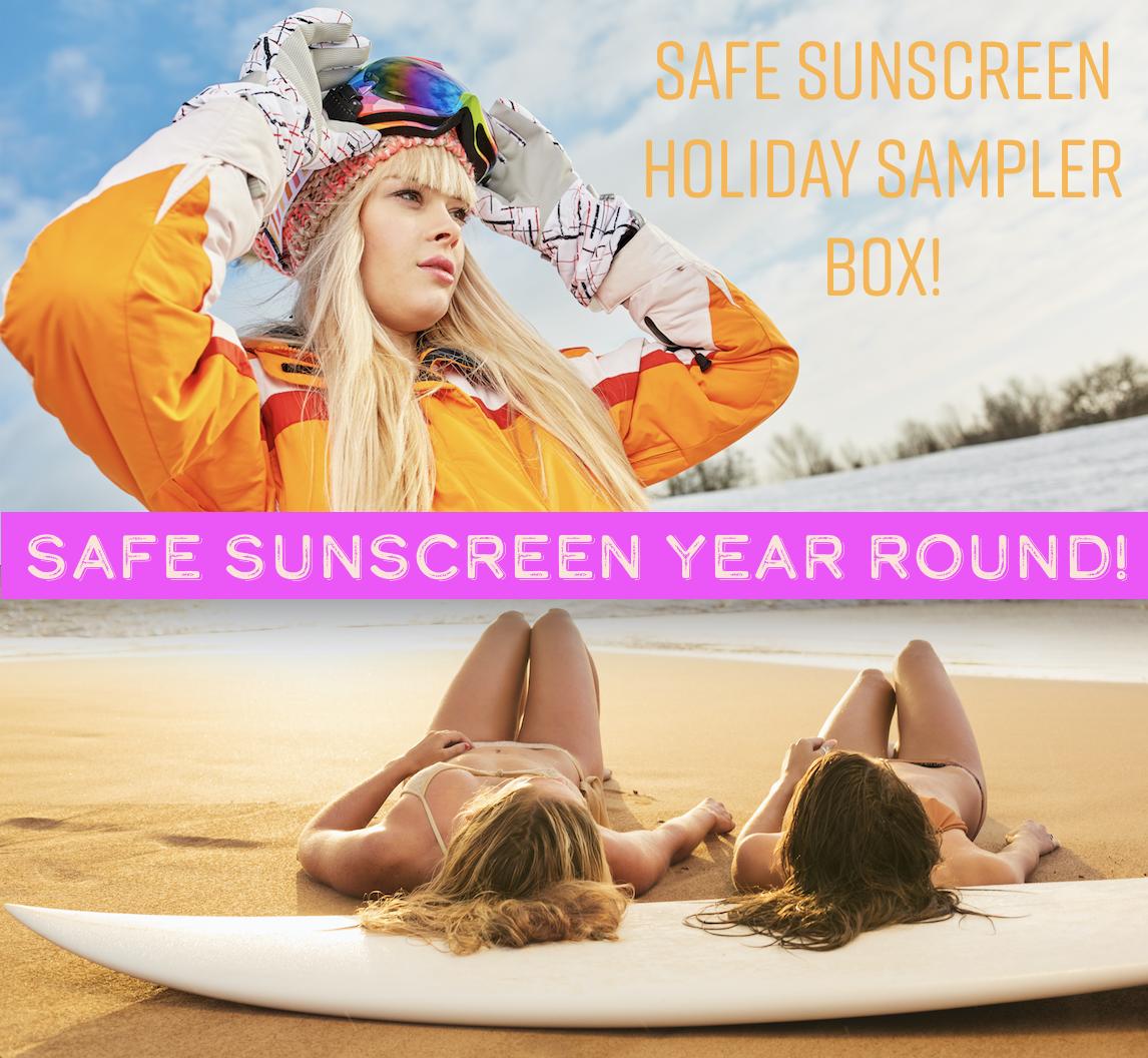 Safe Sunscreen Holiday Sampler Box Ban Toxic Sunscreens Hawaii