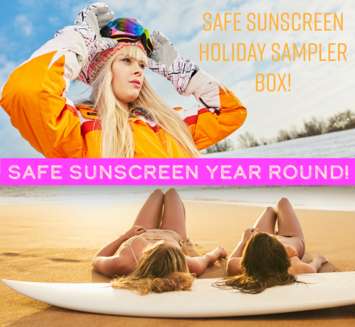 Safe Sunscreen Holiday Sampler Box Ban Toxic Sunscreens Hawaii